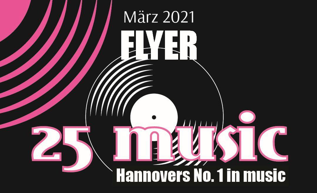 Flyer im März 2021
